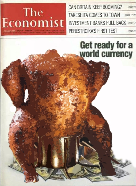 The publication belongs to the Economist Group. It is 50% owned by the English branch of the Rothschild family and by the Agnelli family through its holding company Exor.