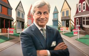 Jamie Dimon ~ Special Investigation: How America's Biggest Bank Paid Its Fine for the 2008 Mortgage Crisis—With Phony Mortgages!