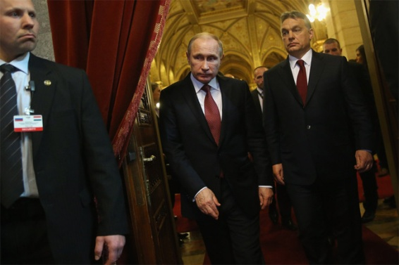 Russia Putin Hungary Orban