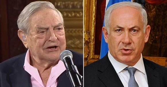George Soros & Benny Netanyahu