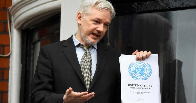 Patrick Henningson on Julian Assange's 1st Extradition Hearing & possible new laws Iu