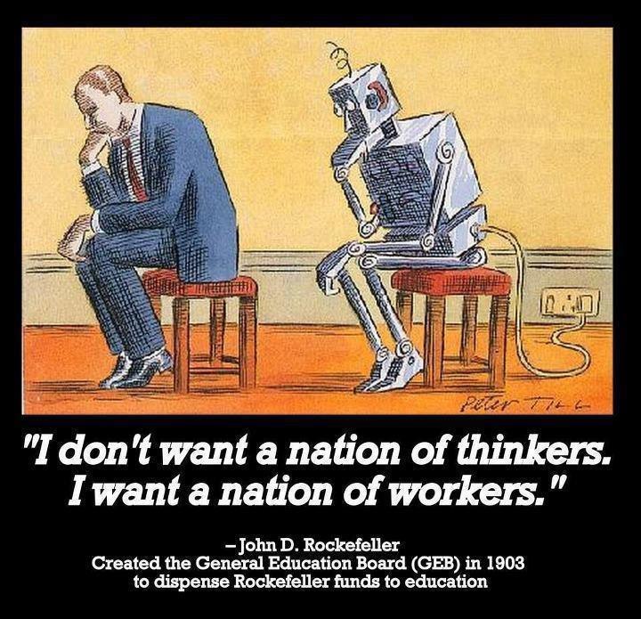 6 Ways To Cope With, Or Maybe Escape, Deep State Corporate Stockholm Syndrome I-dont-want-a-nation-of-thinkers-i-want-a-nation-of-workers