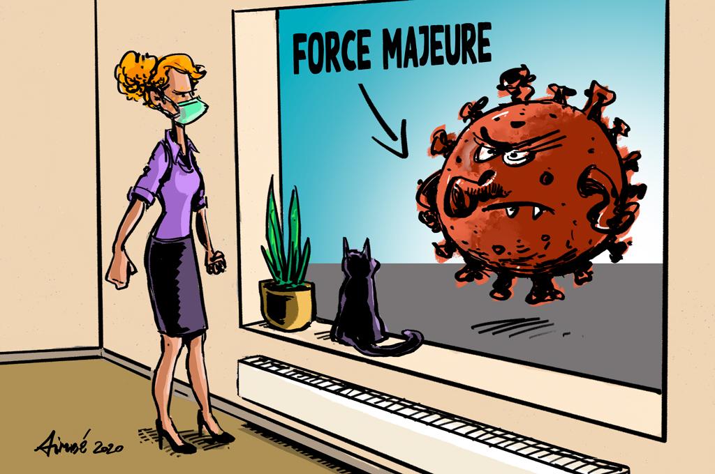 coronavirus force majeure